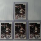 Lot of 4 1984 Star Larry Nance #1 Rookie NMMT