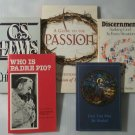 Lot of 5 Religious Paperback Books Discernment Who Is Padre Pio Mere Christianity