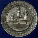 Hudson Pewter 1981 Angels Collector's Plate 1664/10000 Albert C. Petitto