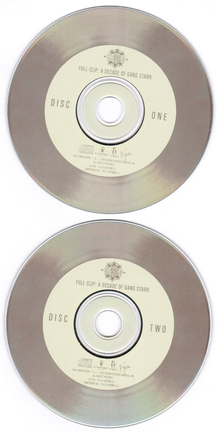 Full Clip Decade of Gang Starr 2 Disc Set Explicit Lyrics