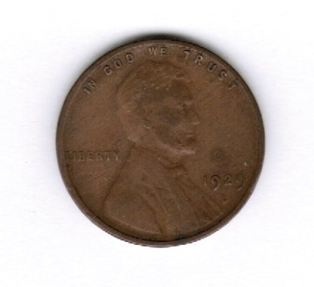 1929 D Lincoln Wheat Penny VF