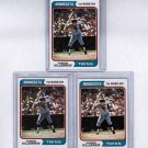 Lot of 3 1974 Topps Harmon Killebrew #400 NRMT