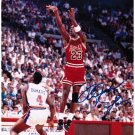 Michael Jordan NBA HOF Hand Signed 8x10 Jump Shot Photograph