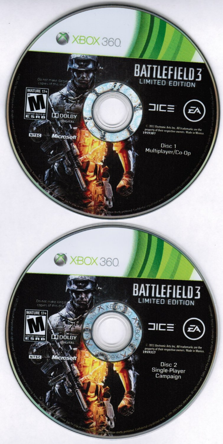 Battlefield 3 Limited Edition Xbox 360 Game