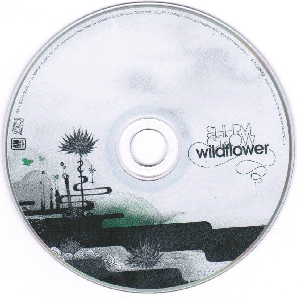 Sheryl Crow Wildflower CD