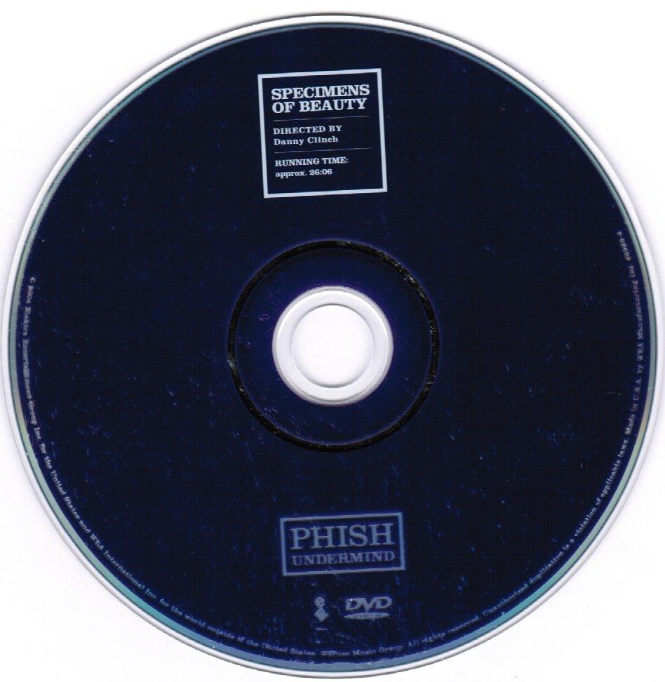 Phish Undermind CD