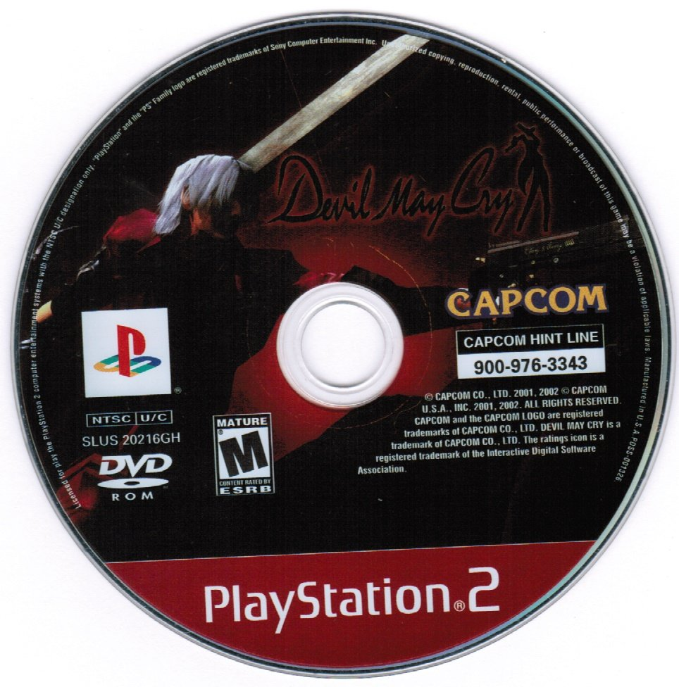 Devil May Cry PS2 Playstation 2 Game