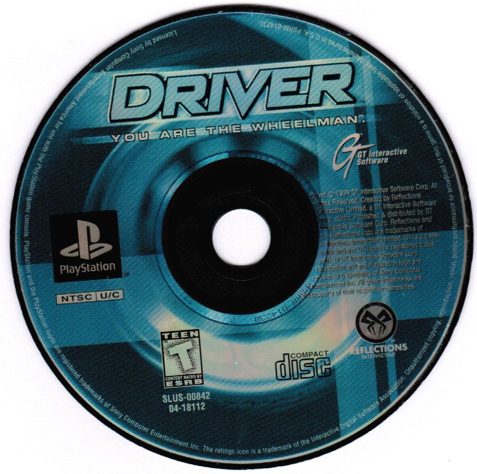 Driver PS1 Playstation 1 Game