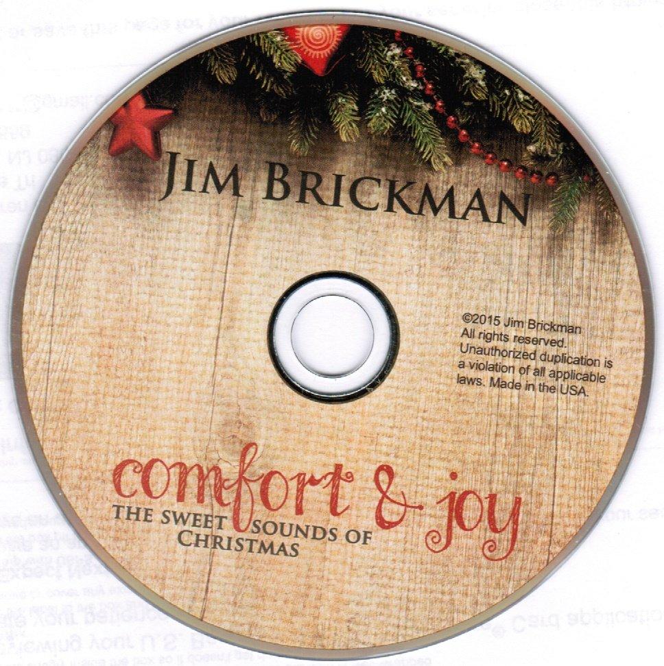 Jim Brickman Comfort & Joy The Sweet Sounds of Christmas