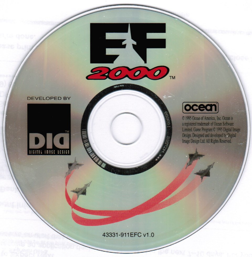 EF 2000 Flight Simulator PC Game