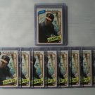 Lot of 10 1980 Topps Willie McCovey #335 Baseball Cards