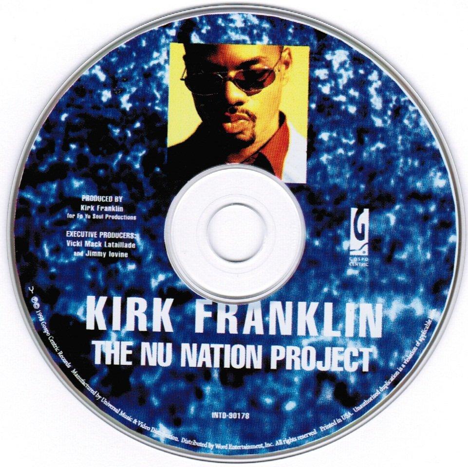 Kirk Franklin The Nu Nation Project CD