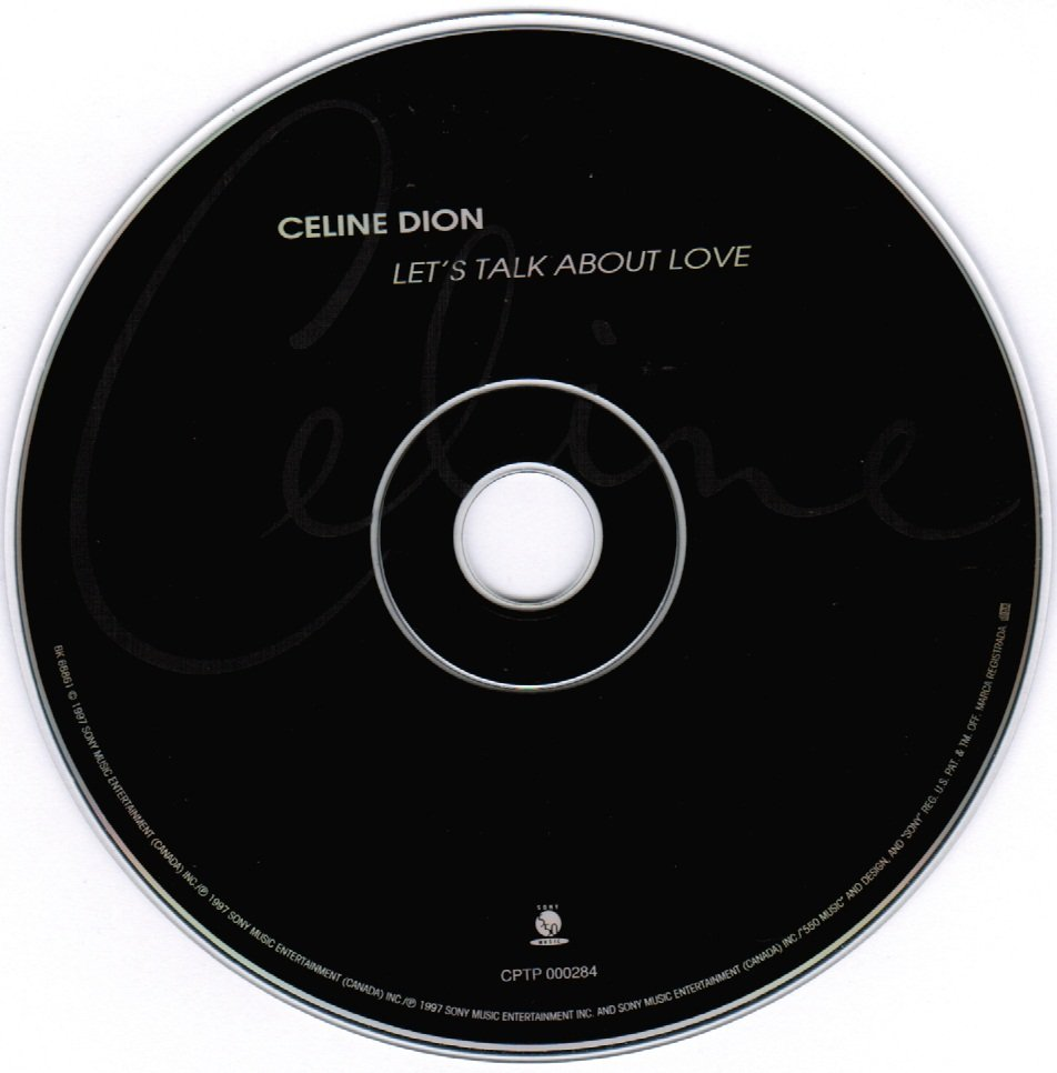 Celine Dion Let's Talk About Love CD