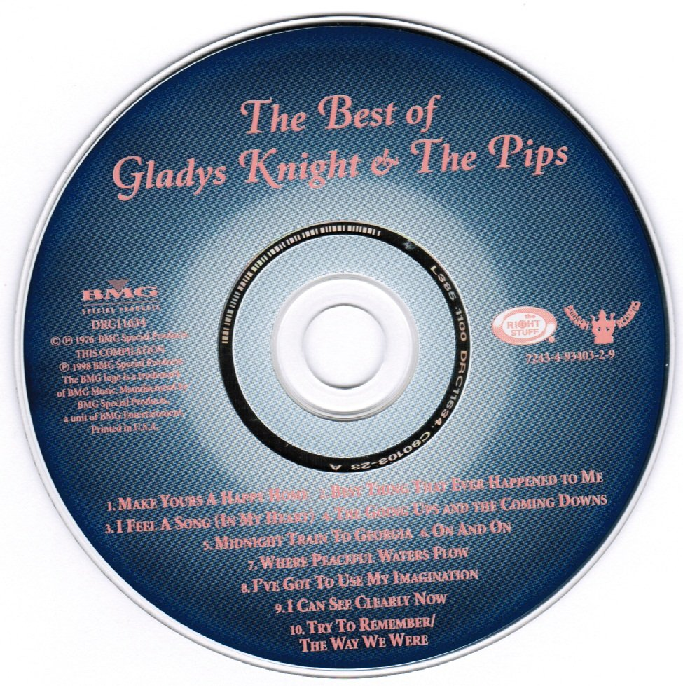 The Best of Gladys Knight & The Pips CD
