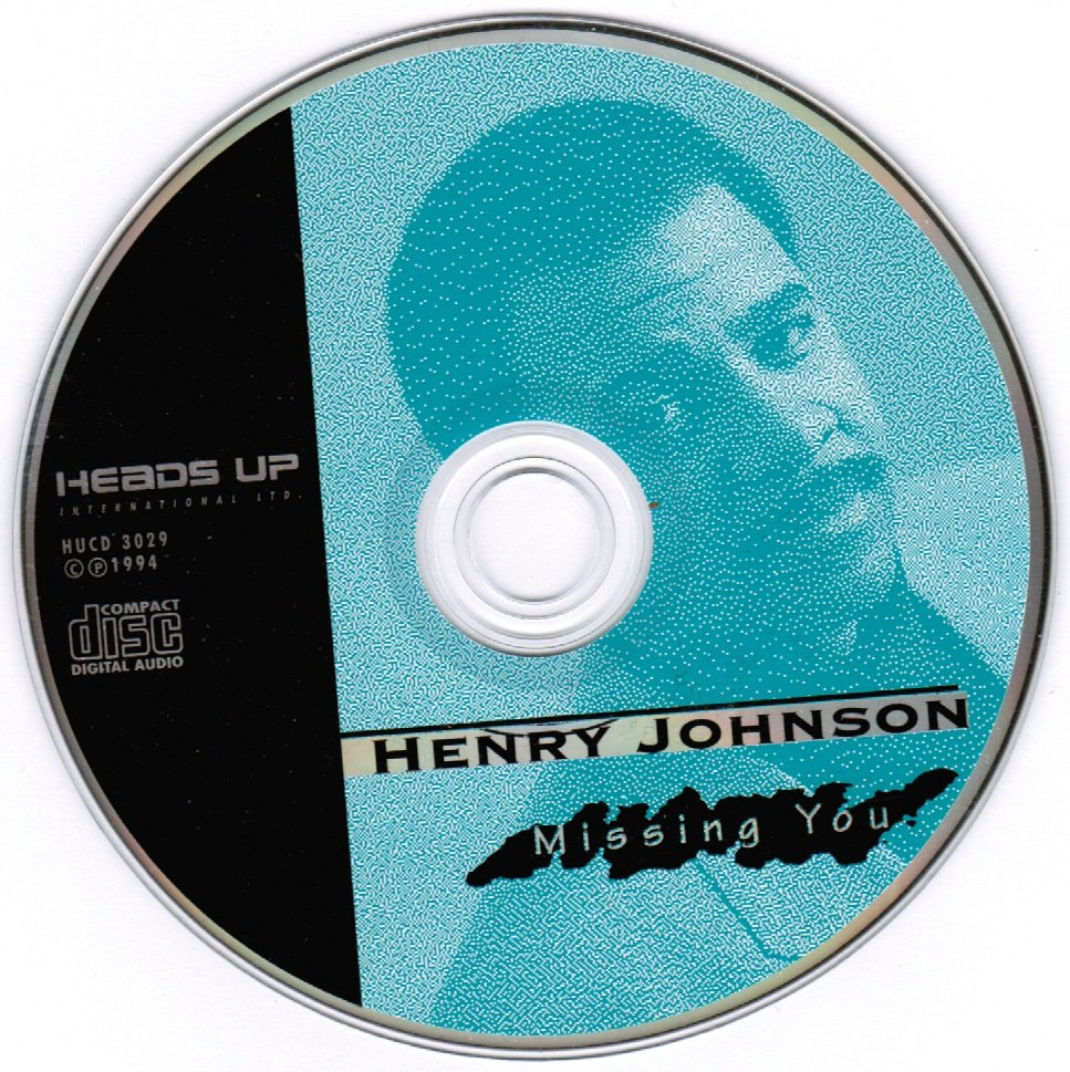 Missing You by Henry Johnson CD