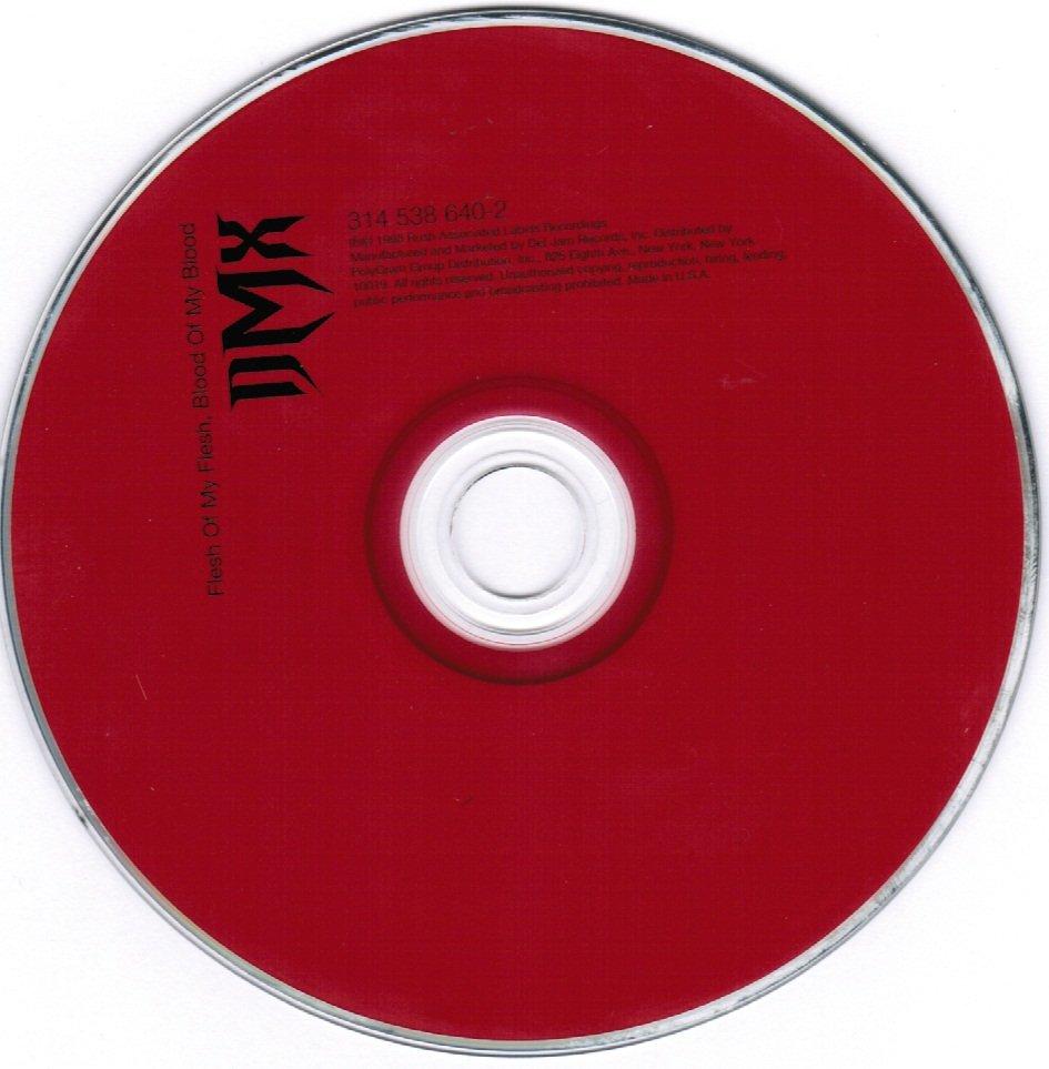 DMX Flesh of My Flesh, Blood of My Blood CD