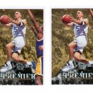 Lot of 2 1995 SP Authentic Jason Kidd #2 Rookie Cards