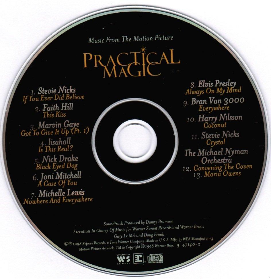 Practical Magic Original Motion Picture Soundtrack CD