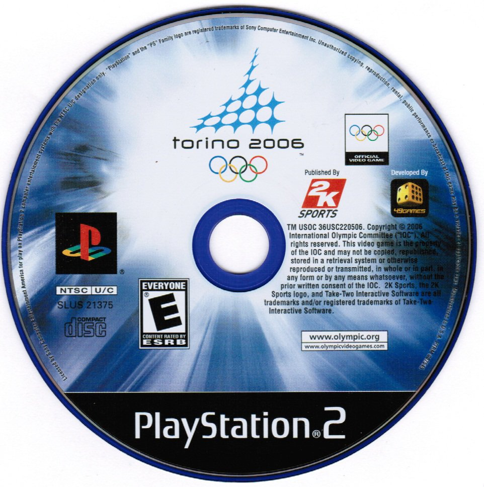 Torino 2006 Playstation 2 PS2 Game