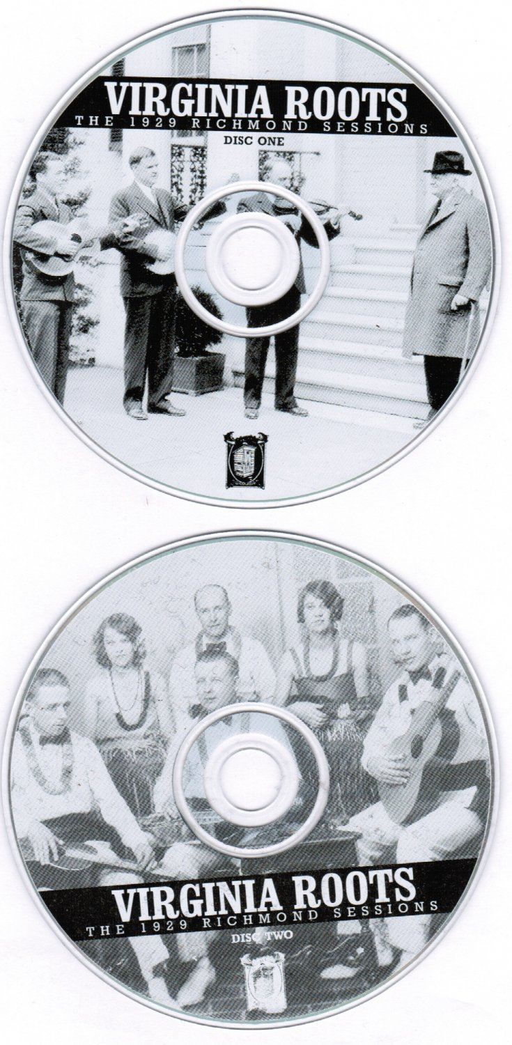 Virginia Roots 1929 The Richmond Sessions 2 CD Collection