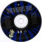 Those Wonderful Years Because of You Various Artists CD