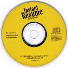 Instant Resume by Softkey PC Software