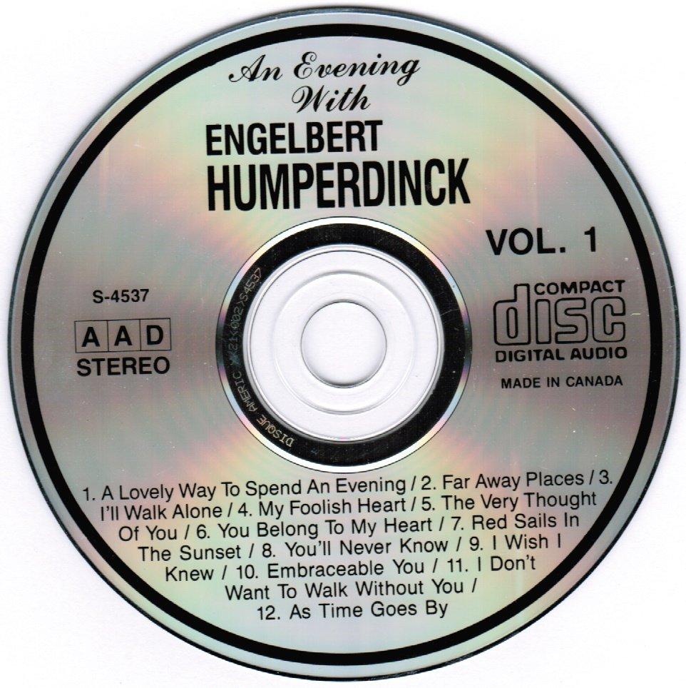 An Evening with Englebert Humperdinck by Royal Philharmonic Orchestra CD