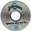 Steve Miller Band Greatest Hits 1974-78 CD