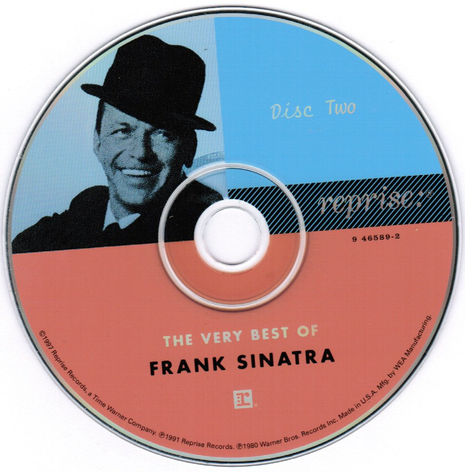 The Very Best of Frank Sinatra CD Disc Two Only