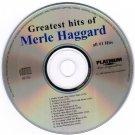 Greatest Hits of Merle Haggard CD