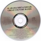 Alabama Shenandoah Great Country Bands CD