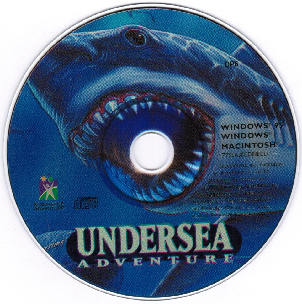 Undersea Adventure Educational Computer PC Game