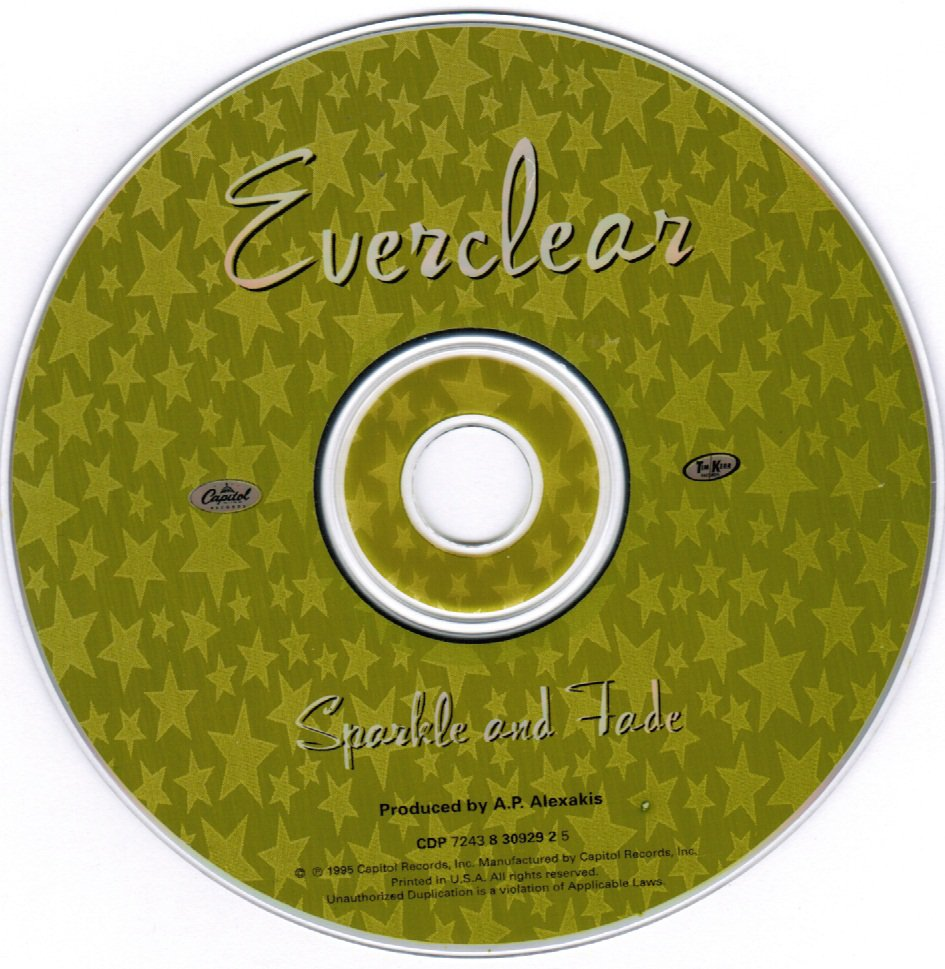 Everclear Sparkle and Fade CD