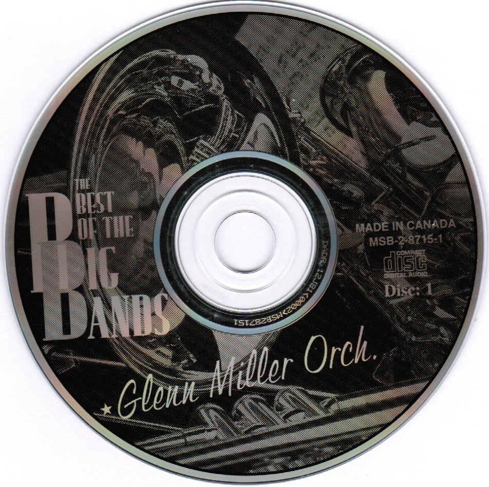 Best of the Big Bands Glenn Miller Orchestra CD Disc Two Only