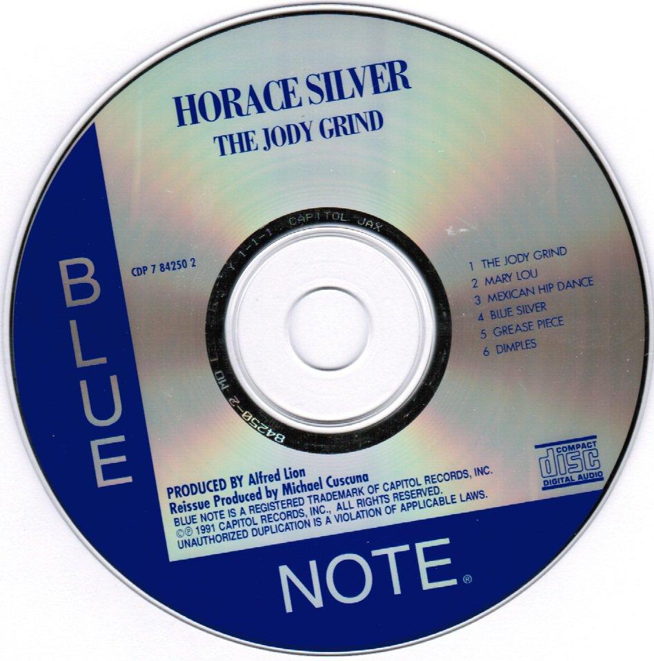 Horace Silver The Jody Grind CD Blue Note