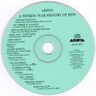 Arista 15 Year History of Hits CD