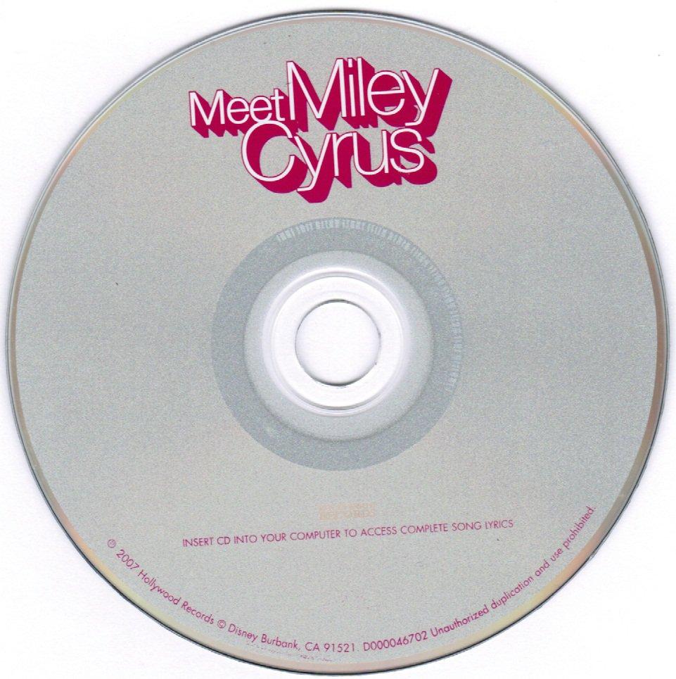 Meet Miley Cyrus CD