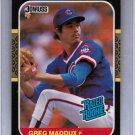 1987 Donruss Greg Maddux #36 Rookie NMMT