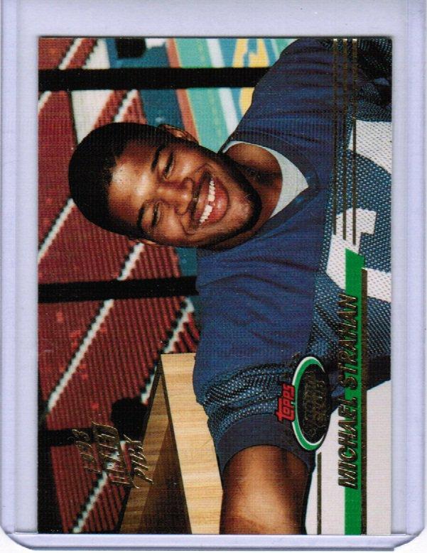 1993 Stadium Club Michael Strahan #384 Rookie NMMT