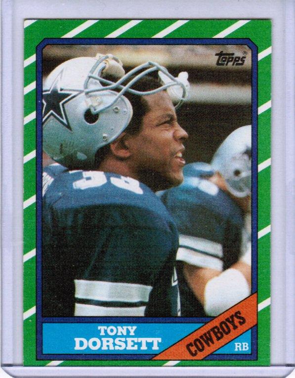 1986 Topps Tony Dorsett #276 NRMT