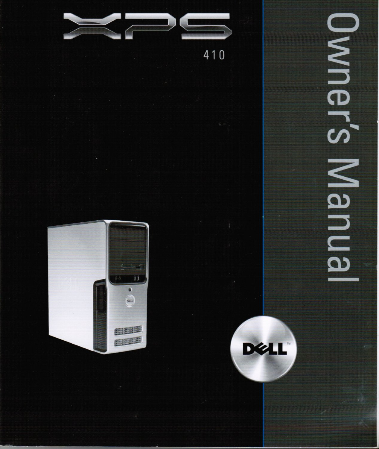 Dell XPS 410 Owner's Manual