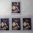 Lot of 4 1994 SP Authentic Alex Rodriguez #15 Rookie Cards