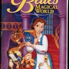 Belle's Magical World Disney VHS