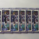 Lot of 8 1982 Fleer Dave Righetti #52 Rookie Cards