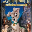 Walt Disney's Lady & The Tramp 2 Scamp's Adventure VHS