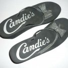 Candies Women's Raised Flip Flops Size 10 Bow Tie Sandals