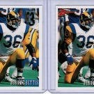 Lot of 2 1993 Bowman Jerome Bettis #264 Rookie NMMT