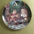 "MJ Hummel Private Parade Little Companions 23K Gold Trim 8"" Collector's Plate S6108 Danbury Mint"