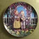 "MJ Hummel Little Musicians Companions 23K Gold Trim 8"" Collector's Plate S6108 Danbury Mint"