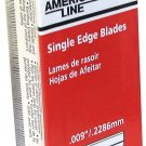 American Safety Razor 100 Pack Heavy Duty Single Edge Razor Blades 66-0089